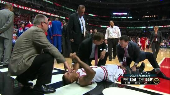 derrick rose injured