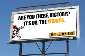 pirates victory billboard