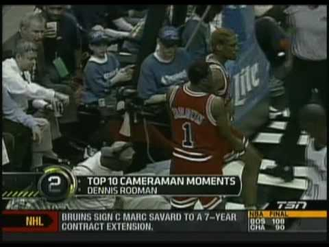 rodman kicks cameraman