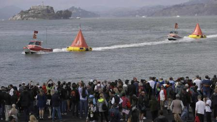 americas cup crowd