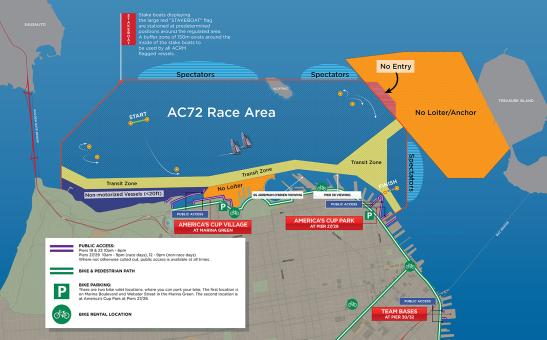 americas cup race course 2013
