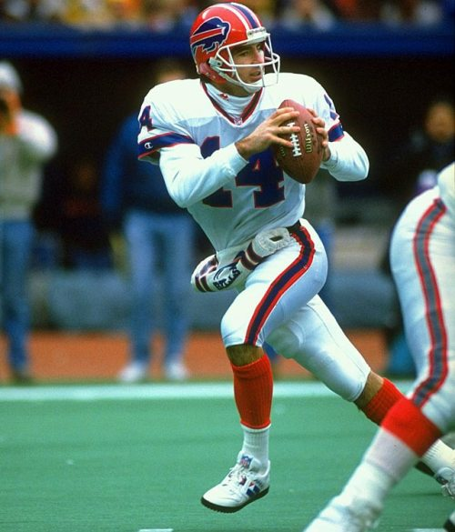 frank reich dropping back