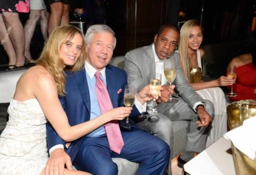 robert kraft and jay z