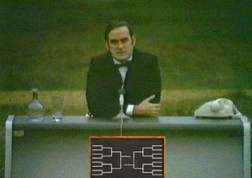 john cleese completely different bracket