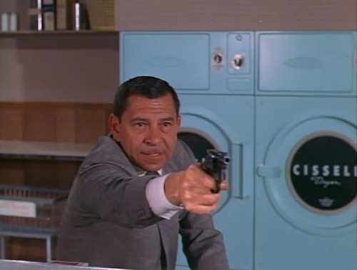 "Sgt. Joe Friday...another ""no conclusions, just the facts"" sort of guy."