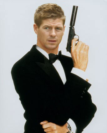 steven gerrard james bond