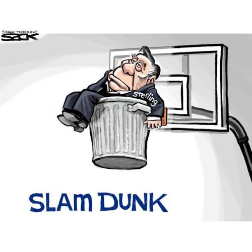 donald sterling slam dunk