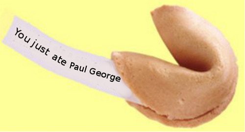 paul george fortune cookie
