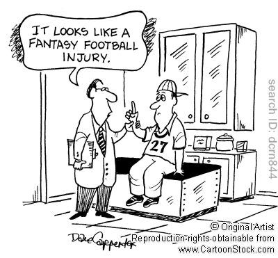 fantasy football injury