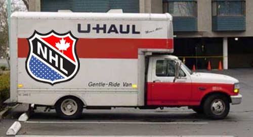 nhl uhaul truck