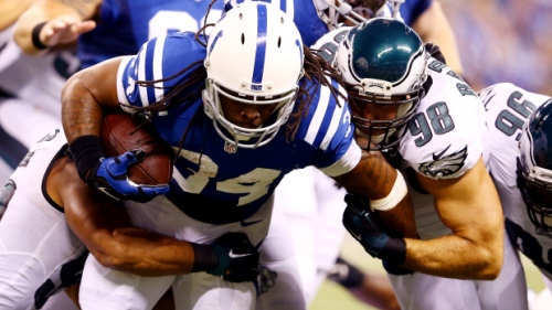 Trent Richardson's runs: Usually going nowhere faster than Uncle Ray's Felonious Rice..