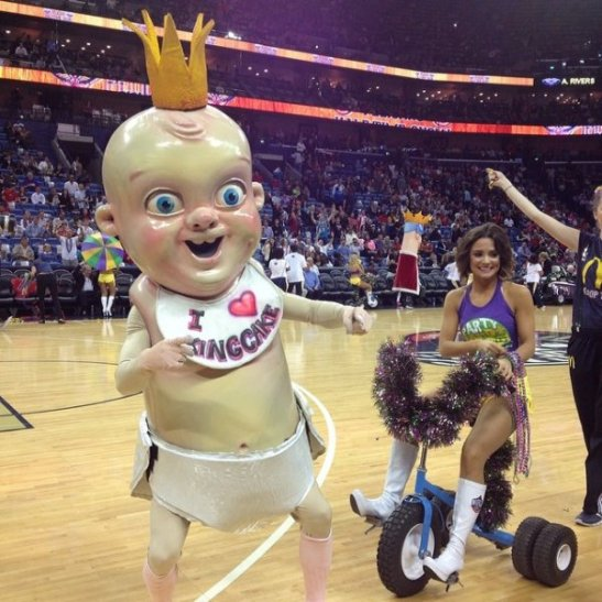 new orleans king cake baby