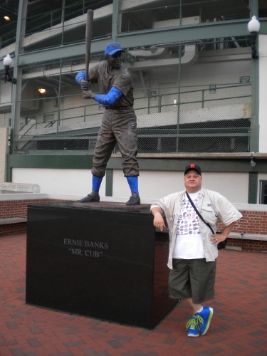 15 jw with ernie banks statue 2