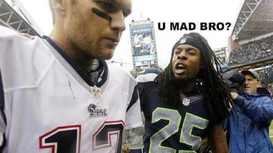 richard sherman u mad bro