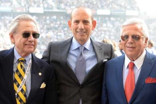 robert kraft owners box