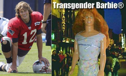tom brady transgender barbie