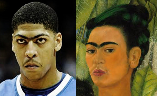 anthony davis frida kahlo