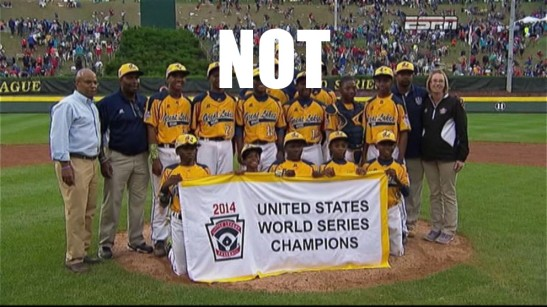 JRW little league champs 2014