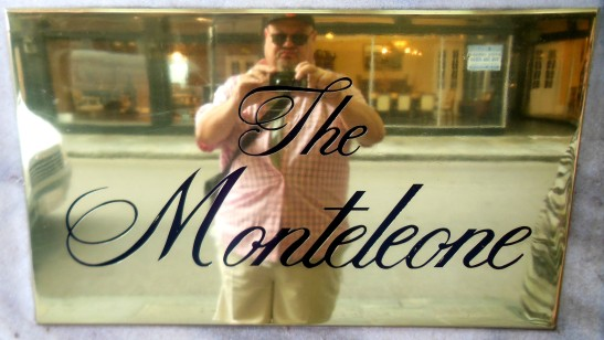 J-Dub at hotel monteleone sign