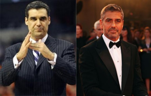 Jay Wright George Clooney