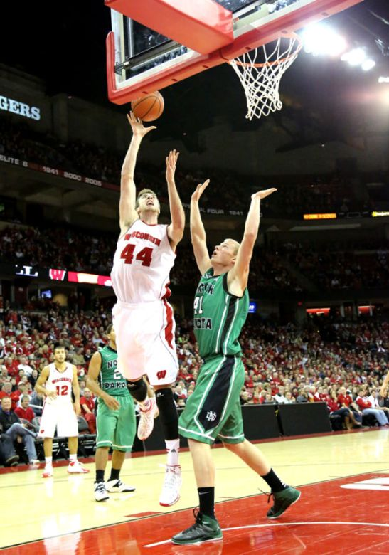 North Dakota is a hockey school, but even with sticks they couldn't have stopped Kaminsky.