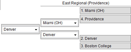 Frozen Four East Region 2015