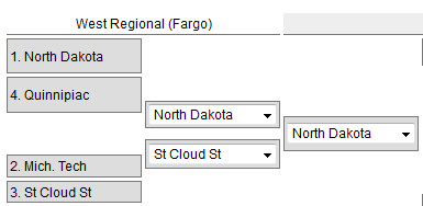 Frozen Four West Region 2015