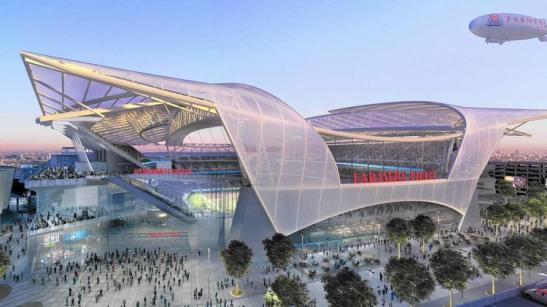 los angeles proposed NFL stadium
