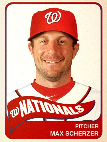 $1 gets you back the same number as Max Scherzer has eye colors.