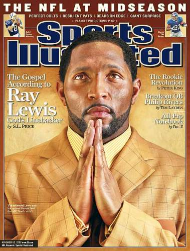 ray lewis si cover