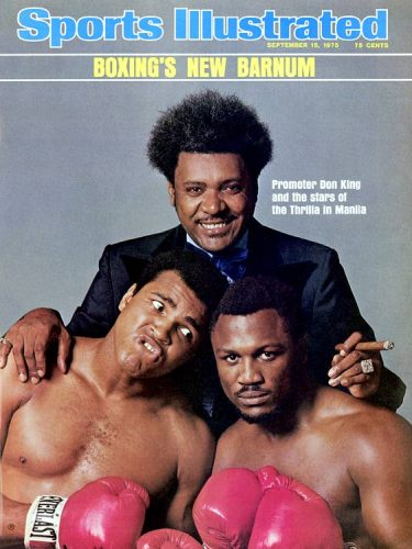 muhammad ali joe frazier don king si cover