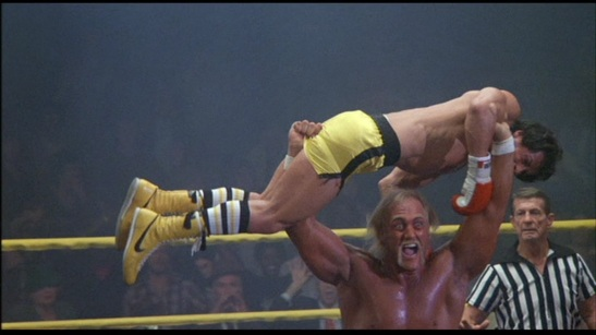 We all knew it was over when Rocky got fisted by Hulk Hogan.