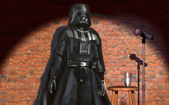 darth vader stand up comedy
