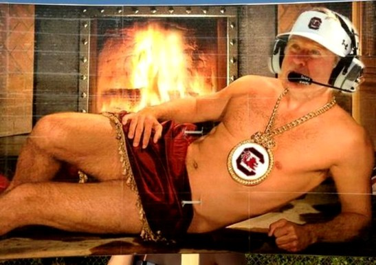 spurrier fireplace