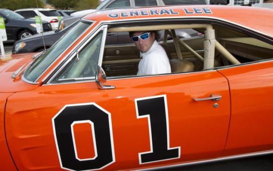 bubba watson and the general lee