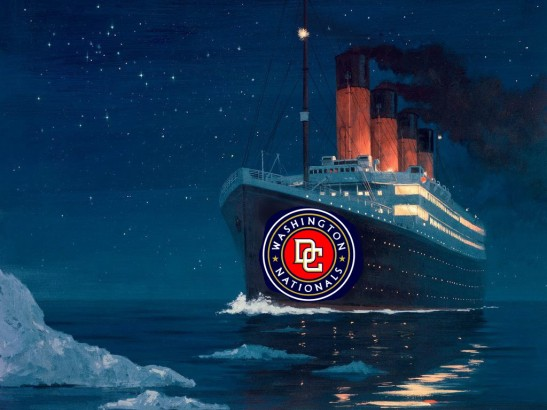 washington nationals titanic
