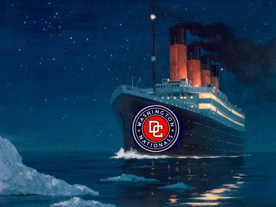 washington nationals titanic