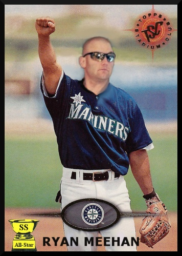 RYAN MEEHAN BASEBALL CARD