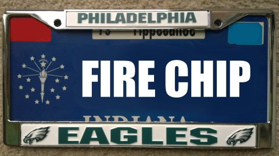CHIP KELLY LICENSE PLATE