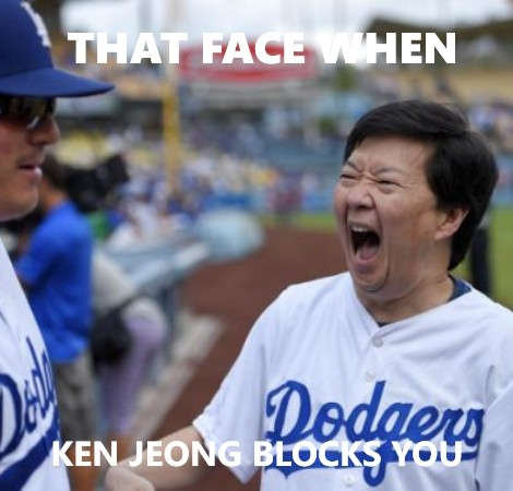 Ken Jeong Blocked Meme