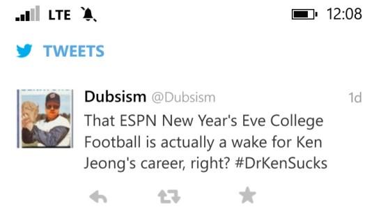 Ken Jerong Tweet 1