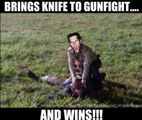 tom brady walking dead