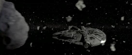 millenium falcon asteroid field