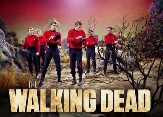 redshirt walking dead