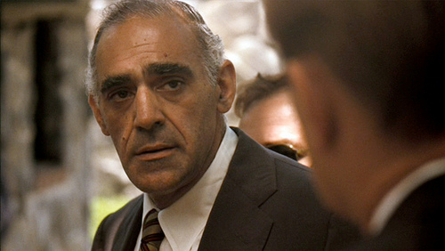 Salvatore Tessio...not Detective Fish.  But he's about to sleep with the fishes. Yeah, sometimes the jokes write themselves.