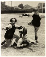 three stooges football