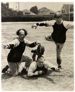 three stooges football