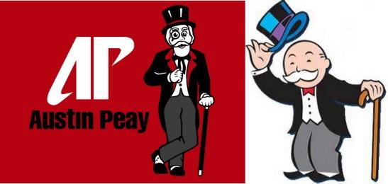 austin peay monopoly guy