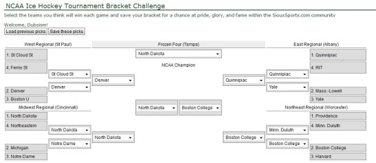 Dubsism hockey bracket 2016