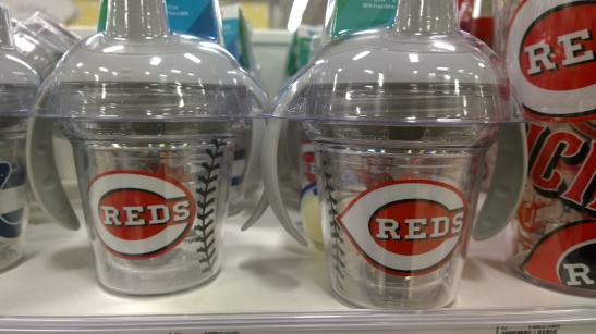 Cincinnati Reds Sippy Cup: 1st Degree Child Abuse
